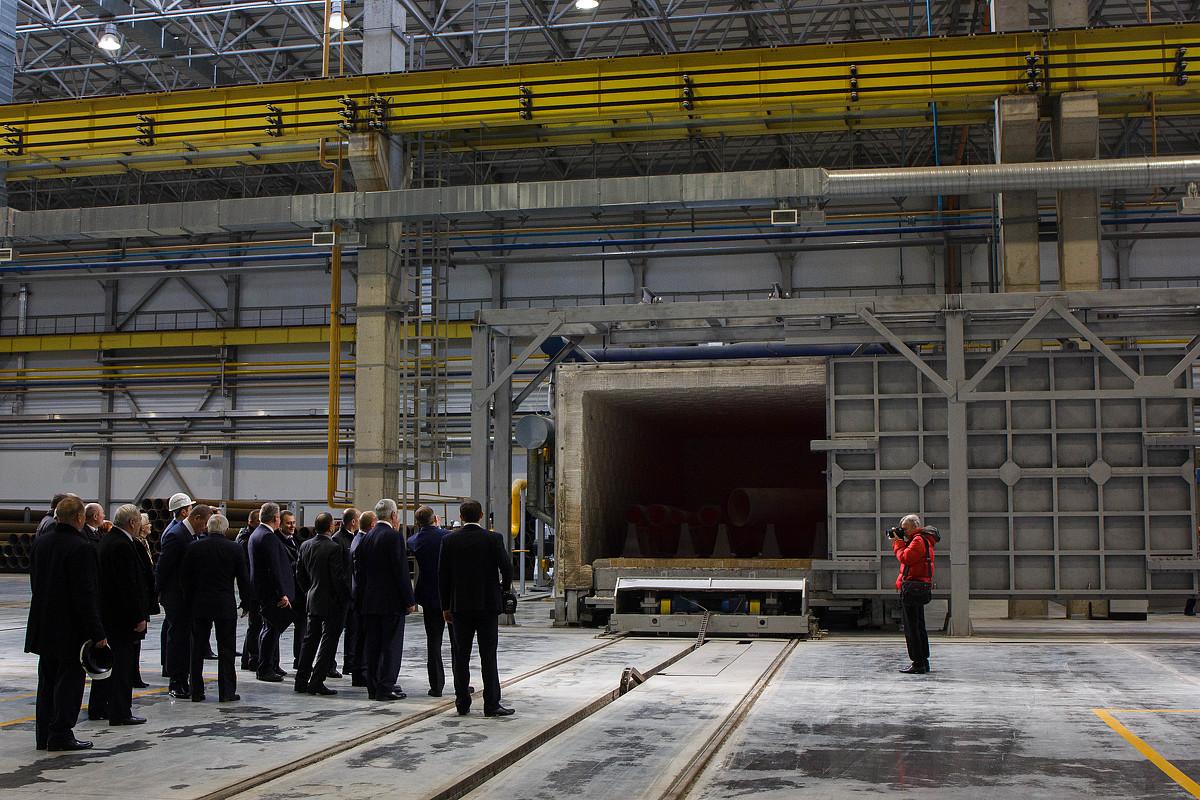 Белэнергомаш планирует увеличить объемы производства металлоконструкций