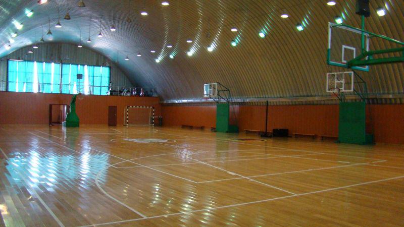 Строительство спортивных залов по бескаркасной технологии