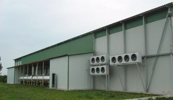 Микроклимат в хранилищах сельхозпродукции. Как выбрать систему вентиляции?