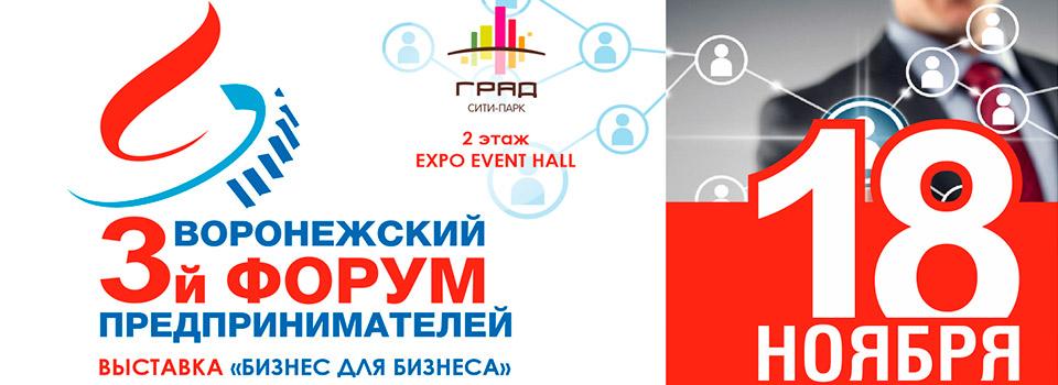 В Воронежской области отметили Всемирную неделю предпринимательства