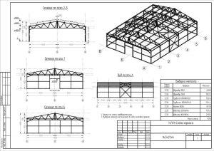 Проектирование быстровозводимых зданий из ЛМК и сендвич-панелей
