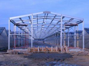 Строительство быстровозводимых складов, промышленных помещений, сельскохозяйственных комплексов в Краснодаре.