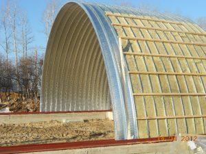 Строительство бескаркасных ангаров в Тамбове