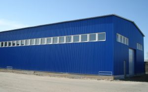 Складские помещения из ЛМК: строительство, цена, отзывы