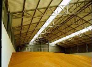 Ангары для зерна: строительство, цены